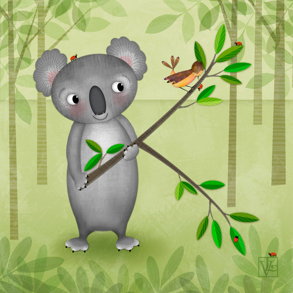 K is for Koala  by Valerie Lesiak