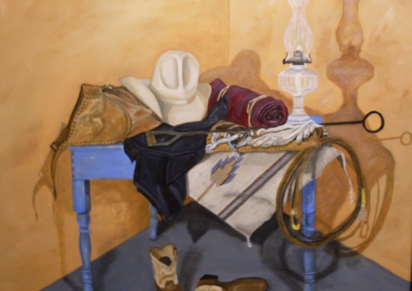 "Oil painting ""Tools of the Trade"" by Gary Cheatham"