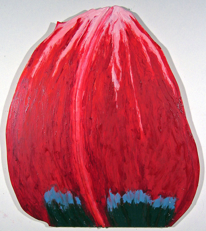 Oil painting Molten Tulip by Gary Eleinko