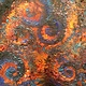Oil painting Ablaze by Yvonne Shaffer