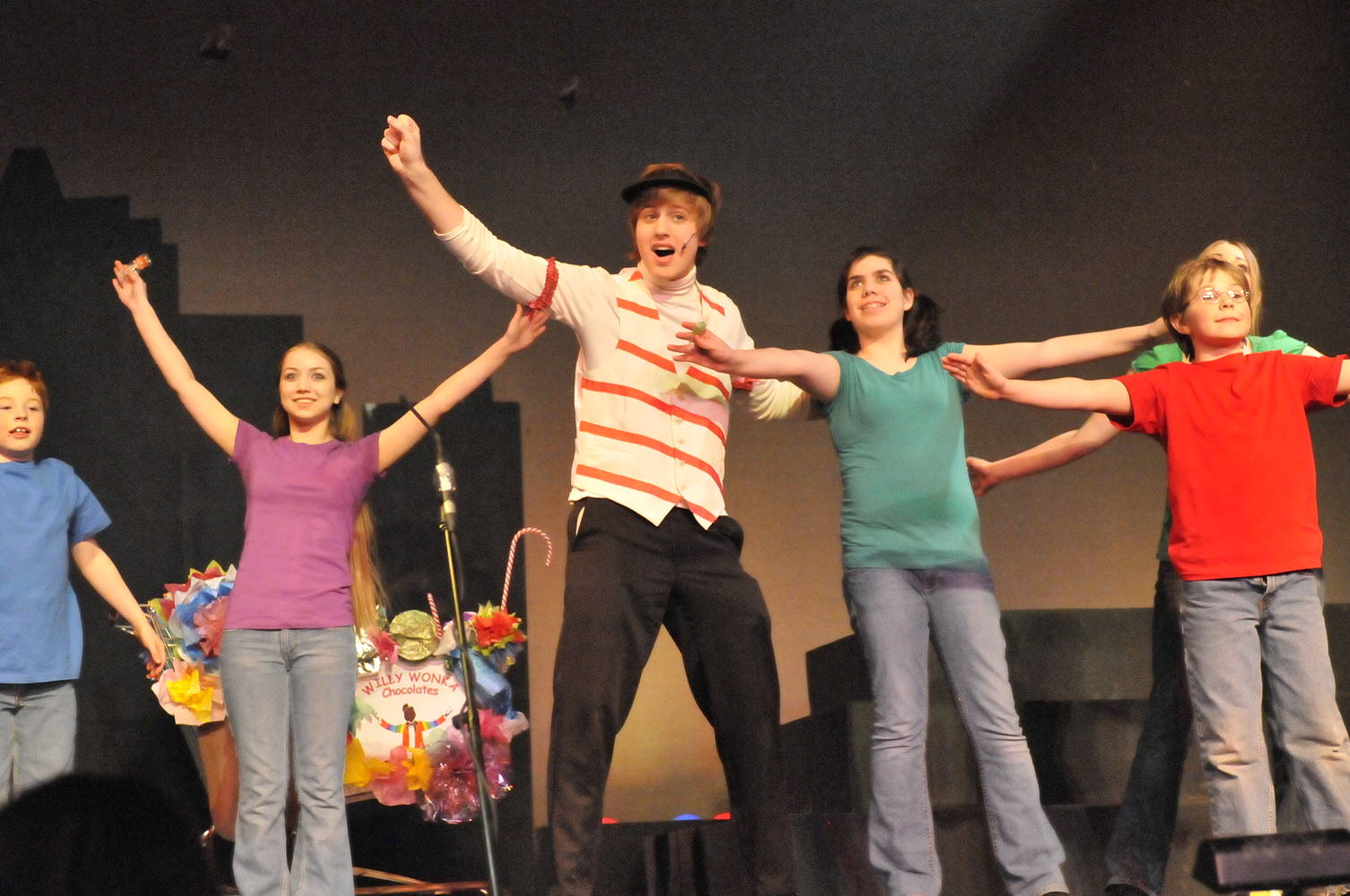 Willy Wonka - Academy Theatre - April 2009 by Yvonne Shaffer