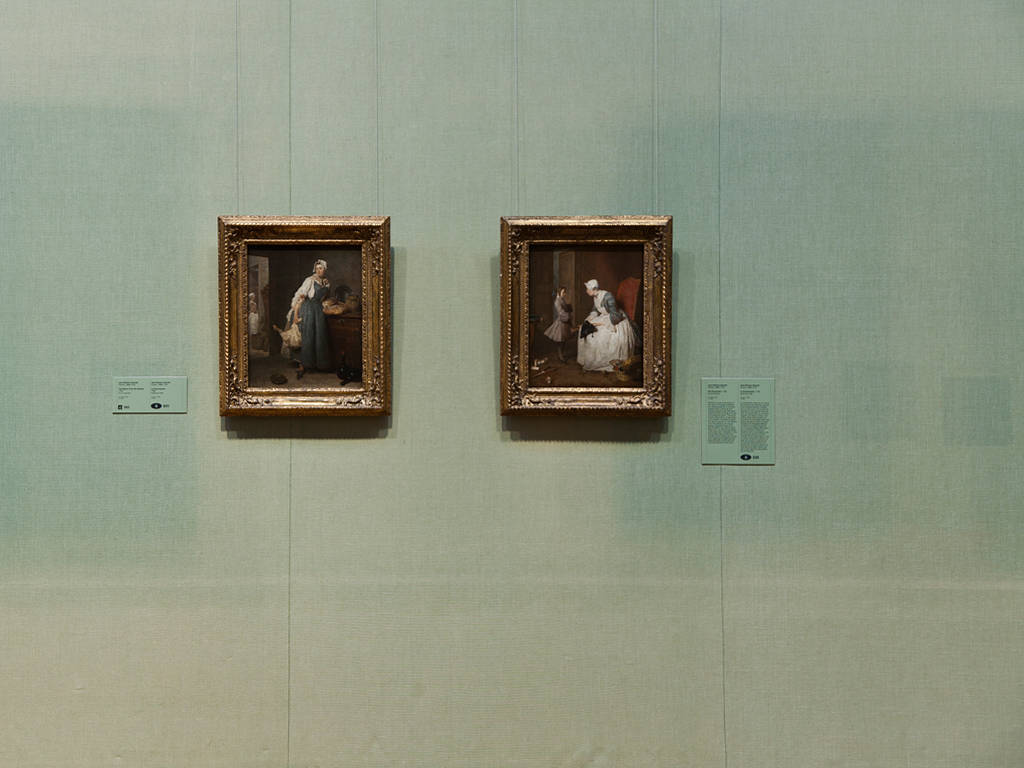 Photography Two works by Jean-Siméon Chardin; Room C208 by Mike Steinhauer