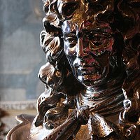 Photography Louis XIV (detail), Salon de Mercure by Mike Steinhauer