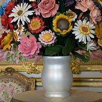 Photography Large vase of flowers (detail), Chambre de la Reine by Mike Steinhauer