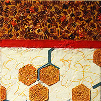 Painting Ode to Bees by Gary Eleinko
