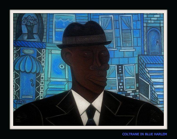 COLTRANE IN BLUE HARLEM by Michael Kilgore