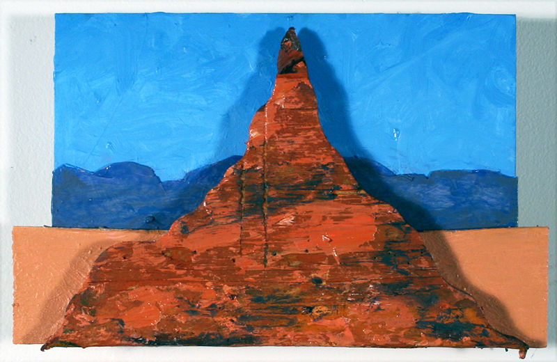 Oil painting Butte # 1 by Gary Eleinko
