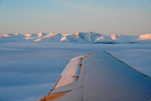 view leaving Whitehorse by Belinda Harrow
