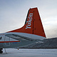 Flight from Whitehorse north to Dawson City by Belinda Harrow