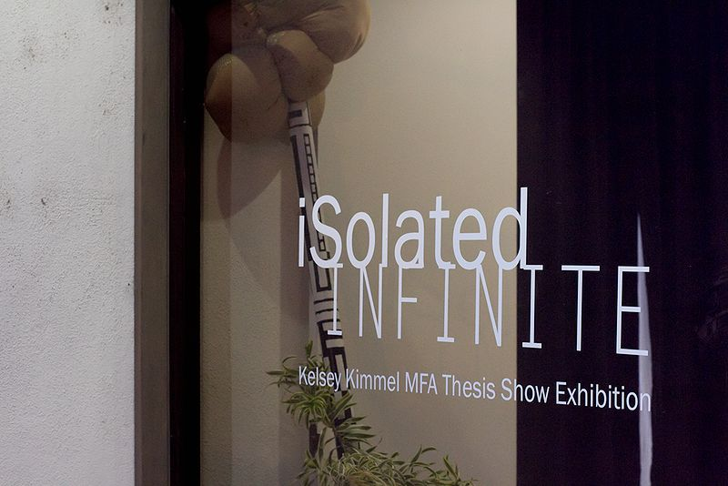 iSolated INFINTE by Kelsey Kimmel