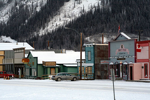 Dawson City - Front Street by Belinda Harrow