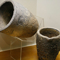 crucibles - at the museum by Belinda Harrow