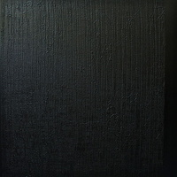 "Acrylic painting #3. Black, Black 2010. 72""x 72"" by Suzanne Turner"