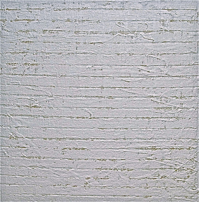 "Acrylic painting WHITE: 2009. 30"" x 30""  *PRIVATE OWNER by John Turner"