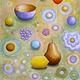 Acrylic painting Favorite Things by Allyson Malek