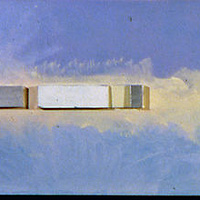 Oil painting Skybar by Gary Eleinko