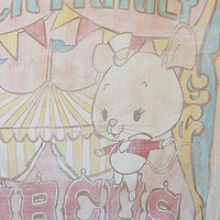 "Painting CIRCUS MURAL - ""Peck Family Circus"" Poster by Cindy Scaife"