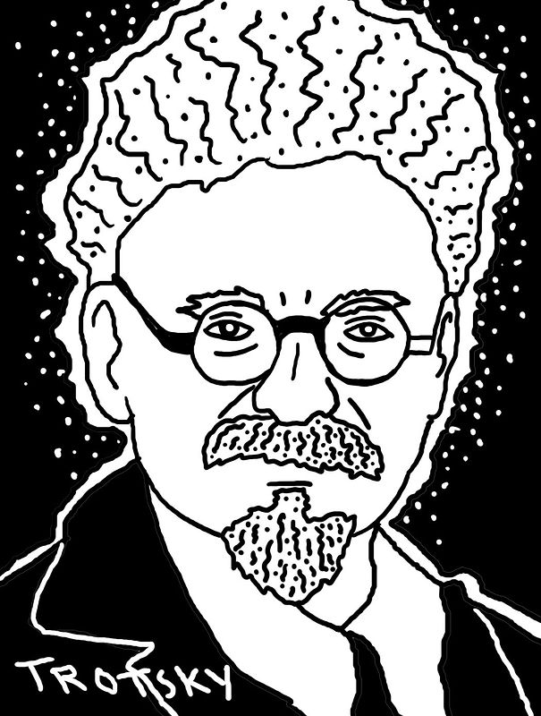 Trotsky by Phil Cummings