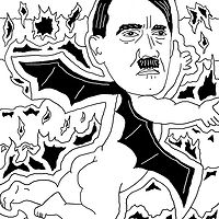 Hitler's Ass by Phil Cummings