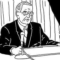 LBJ Surrenders by Phil Cummings