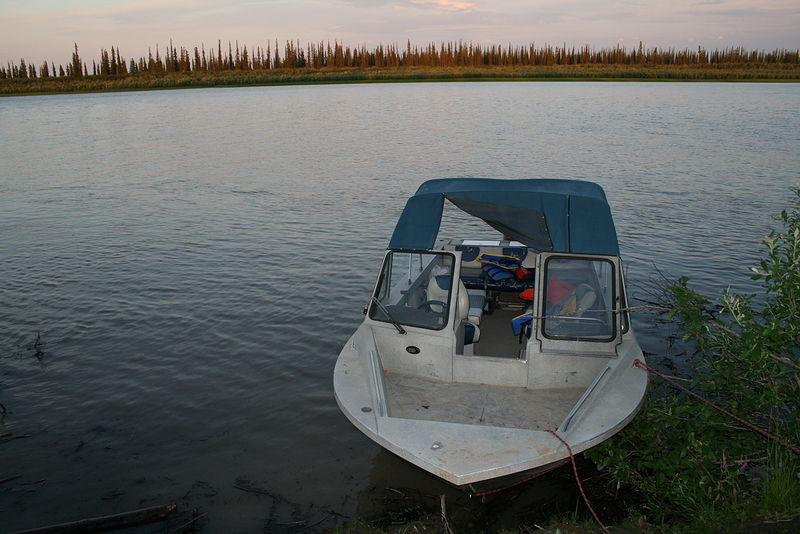 Mackenzie River tour to the mouth of the delta by Belinda Harrow