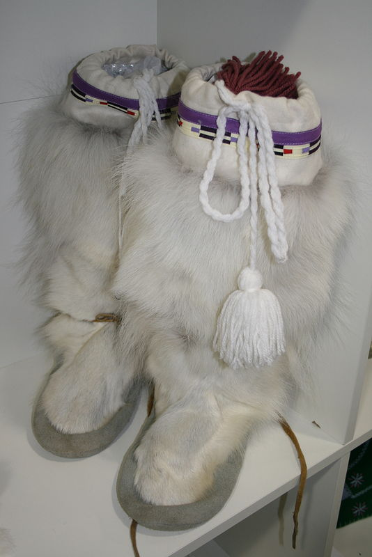 caribou mukluks by Belinda Harrow