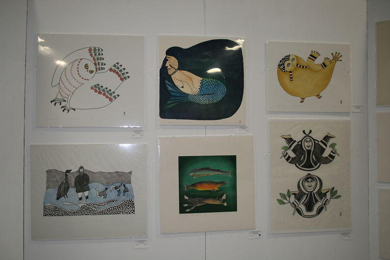 Cape Dorset prints and drawing by Belinda Harrow