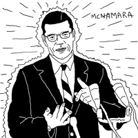 Robert McNamara by Phil Cummings