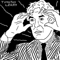 Timothy Leary by Phil Cummings