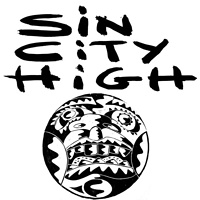 Sin City High cover by Phil Cummings