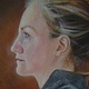 Oil painting Kelly by Judith  Elsasser