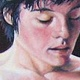 Oil painting Ali by Judith  Elsasser