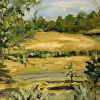 Oil painting The Creek #3 by Edie Marshall