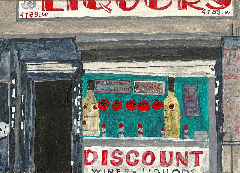 Acrylic painting discount #1 by anthony Ziegler