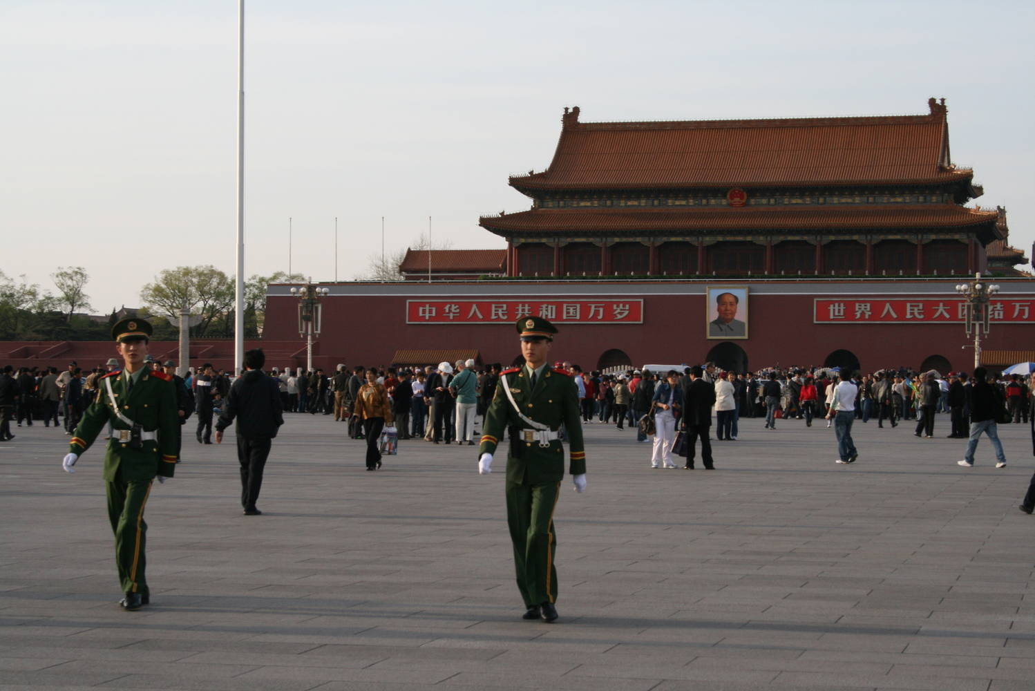 Tiananman Square by Belinda Harrow