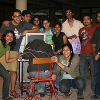 NID students who participated in my two week workshop by Belinda Harrow