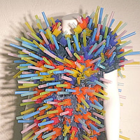 Tapioca Straw Suit by David Faulk