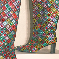 Disco Boots by David Faulk