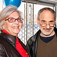 Kathi Pavlick & Playwright Ed Friedman by Leenda Bonilla