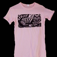 Print Tabbycat T-shirt by Phil Cummings