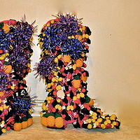 Fruit Boots by David Faulk