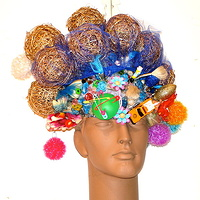 Wicker Ball Wig by David Faulk