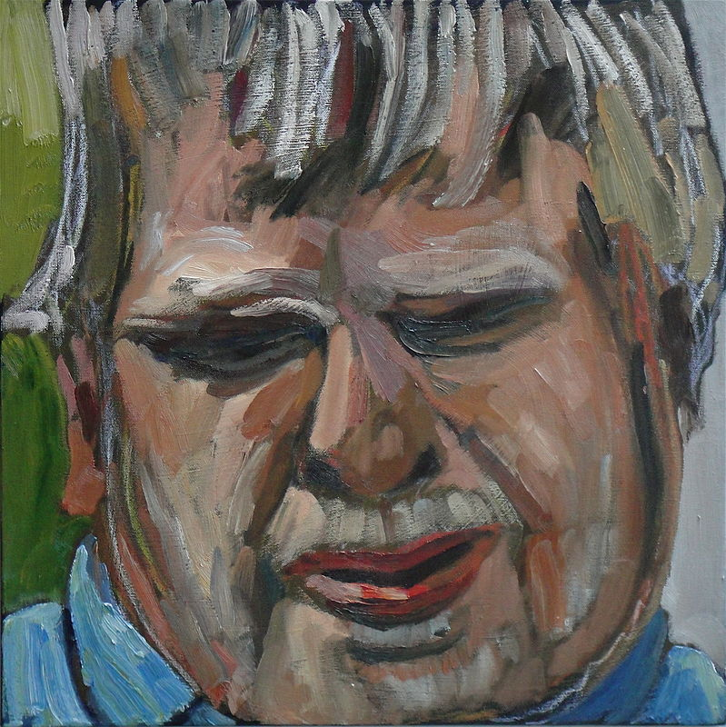 Oil painting Pat by Edward Miller