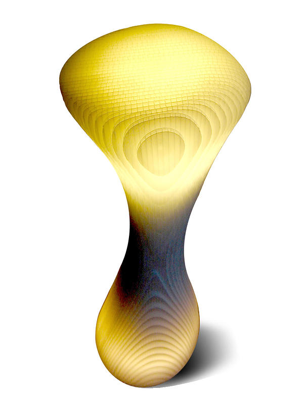Hoodoo Lamp (Designed by: Greg Ball and Shoko Cesar) by John Greg Ball