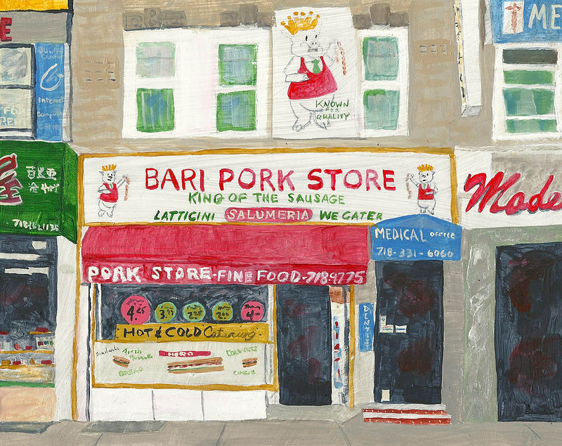 pork store by anthony Ziegler