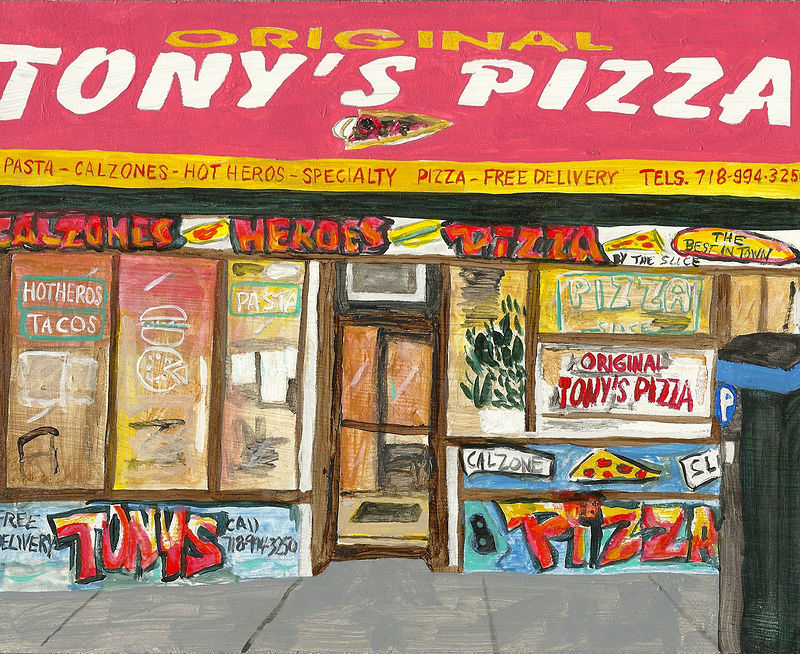 tony's pizza by anthony Ziegler