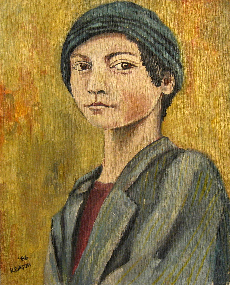 Painting Turkish Boy by John Keaton