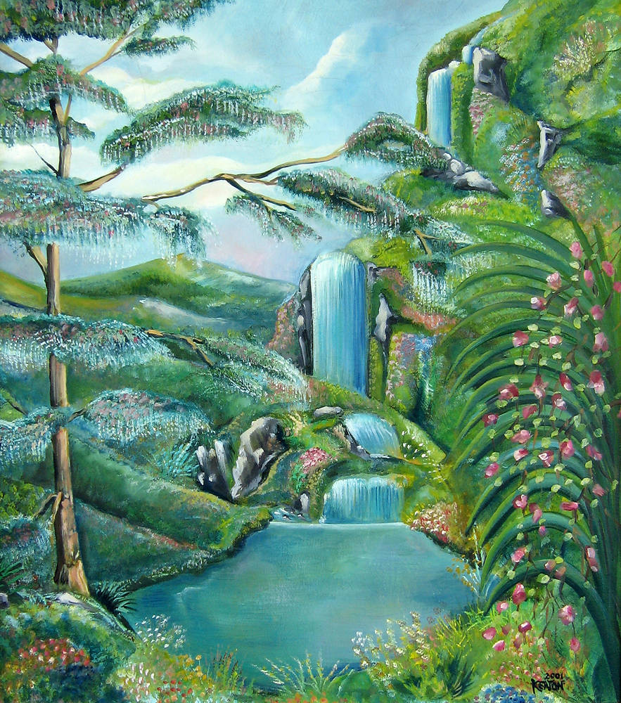 Waterfall  by John Keaton