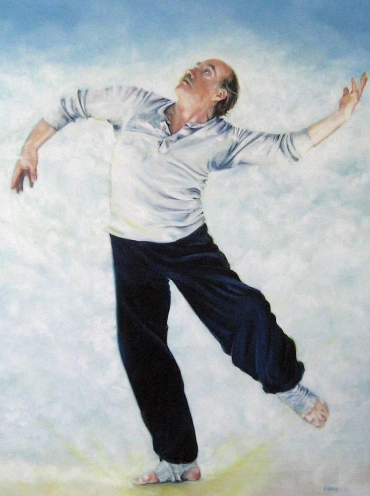 Oil painting David Earle by Judith  Elsasser