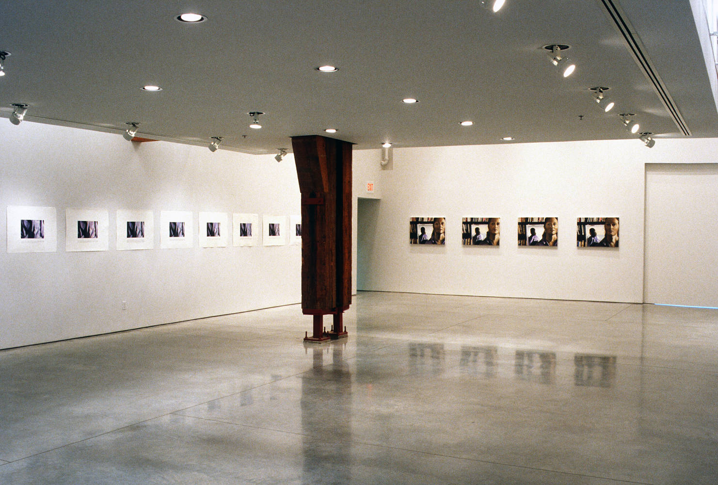 Charles H. Scott Gallery Installation 1994 by Monique Fouquet